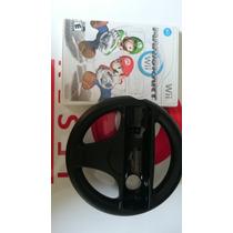 Mario Kart Wii Completo Nintendo Wii Original Usado