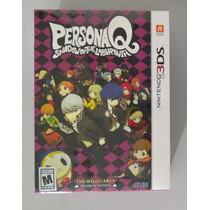 Persona Q The Wild Cards Premium Edition 3ds