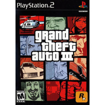 Patch Gta 3 ( Grand Theft Auto 3 ) Ps2 Frete Gratis