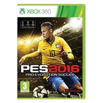 Pes 2016 Xbox 360 Pro Evolution Soccer Português Mídia Físic