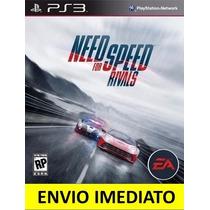 Jogo Need For Speed Rivals Ps3 Português Pt-br Promocão