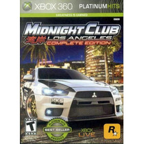 Jogo Xbox 360 Midnight Club Los Angeles Complete Edition