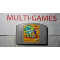 Mario Tennis Original Japones Nintendo 64