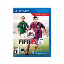 Fifa 2015 15 Psvita Ps Vita Lacrado Original Pronta Entrega