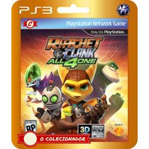 Ratchet & Clank: All 4 One (códigos Ps3)