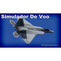 Simulador De Voo Prepar 3d Com Cenário Rio De Janeiro
