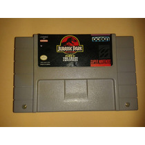 Jogo Jurassic Park Part 2 The Chaos Continues Original Snes