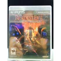 Jogo Resident Evil Operation Racoon City Playstation 3, Novo