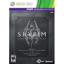 Jogo The Elder Scrolls V Skyrim Legendary Edition Xbox 360