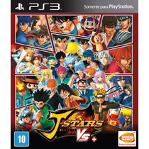 J-stars Victory Vs+ Ps3 Original E Lacrado Legendas Pt-br