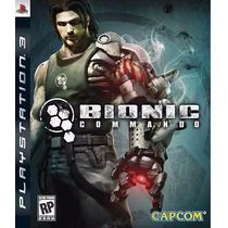 Jogo Bionic Commando Ps3
