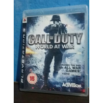 Call Of Duty - World At War - Ps3 (usado)