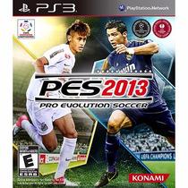 Pro Evolution Soccer Pes 2013 - Ps3 - Novo - Português