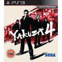 Yakuza 4 Ps3 (código Psn) Yagosgamer!