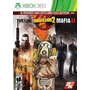 Jogos Xbox 360 -borderlands 2 - Spec Ops The Line - Mafia Ii