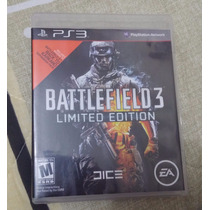 Battlefield 3 Limited Edition - Original - Ps3