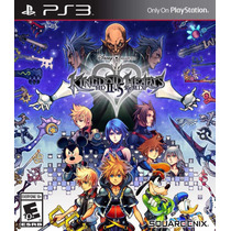 Kingdom Hearts Hd 2.5 Remix 2 Jogos Mídia Física Ps3