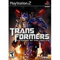 Transformers Revenge Of The Fallen Ps2 Patch + 2 De Brinde