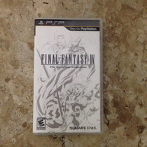 Psp - Final Fantasy 4 Complete Collection - Semi-novo