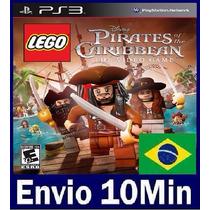 Lego Pirates Of The Caribbean Ps3 Código Psn