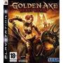 Jogo Semi Novo Golden Axe Beast Rider Playstation 3 Ps3