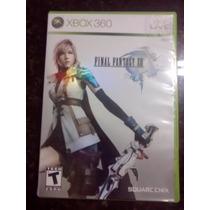 Jogo Final Fantasy Xiii Xbox 360 Original (produto Usado)