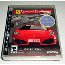 Ferrari Challenge Trofeo Pirelli Corrida Jogo Ps3 Original