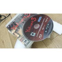 Yakuza 3 - Ps3 Original Para Playstation 3 100%