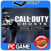 Call Of Duty Ghosts Gold Edition Pc Steam Cd-key Cod Ghosts