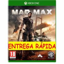Mad Max Original Xbox One Digital Entrega Rápida