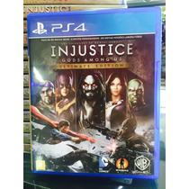 Jogo Injustice Gods Amongus Playstation 4, Lacrado Português