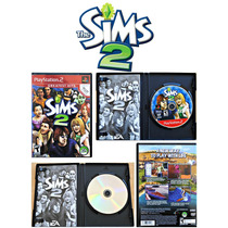 The Sims 2 Original Sony Playstation 2 Ps2 Completo C/manual