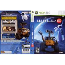 Jogo Wall E Xbox 360 Portugues Original Lacrado Novo A6385