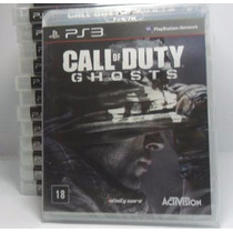 Call Of Duty Ghosts Novo E Lacrado Ps3 Rcr Games