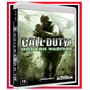 Game Call Of Duty 4 Modern Warfare Ps3 Mídia Blu-ray Lacrado