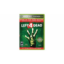 Left 4 Dead Game Of The Year Goty Xbox 360 Lacrado Rcr Games