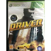 Driver San Francisco Para Xbox 360 Novo Lacrado