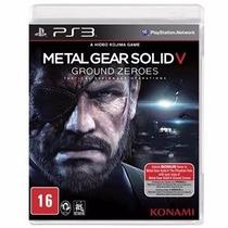 Jogo Para Ps3 Metal Gear Solid V Original Lacrado