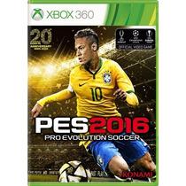 Pes 2016 Pes 16 Xbox 360 Pro Evolution Soccer Português