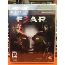 Jogo Fear 3 Ps3 - Jogo Original Lacrado