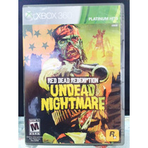 Jogo Red Dead Redemption Undead Nightmare Xbox 360, Original