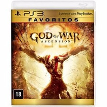Jogo Para Ps3 God Of War Original Lacrado