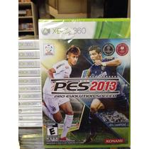 Pes 2013 13 Xbox 360 Ed Brasil Lacrado !! Novo !