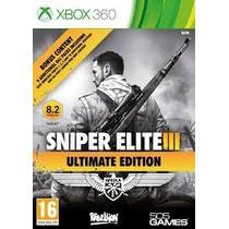 Sniper Elite 3 Ultimate Edition Xbox 360 Física Lacrado