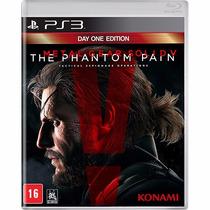 Jogo Metal Gear Solid V The Phantom Pain Ps3 Playstation 3