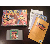 Banjo Tooie - Nintendo 64 - Americano - Impecável!!! Raro!!