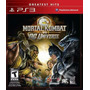 Mortal Kombat Vs Dc Universe Ps3 Jogo Original Mídia Física