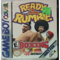 Ready 2 Rumble Boxing Para Game Boy Color (impecável)