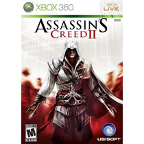 ºº Assassins Creed 2 Xbox 360 - Original Lacrado ºº