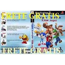 Super Colecão 7784 Jogos Snes + Mario Collection Para Ps2